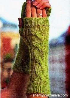 Митенки (перчатки без пальцев)