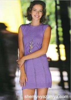 Молодежное мини-платье