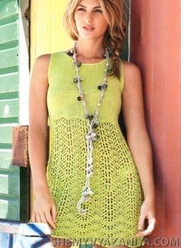 Платье с ажурными арками