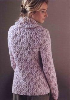 Пуловер с косами Winterbloom