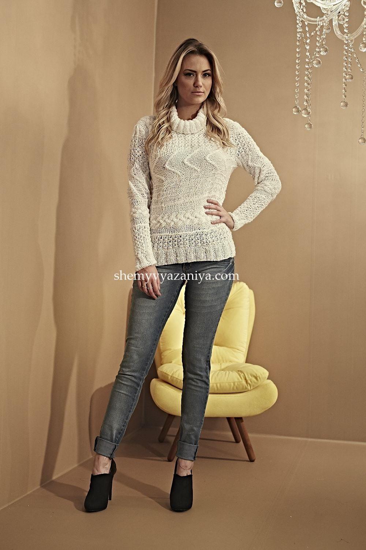 вязание свитера схемы вязания