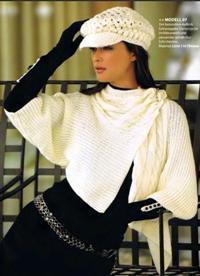 Жакет-кимоно и кепка